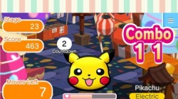 Screenshot for Pokémon Shuffle Mobile - click to enlarge