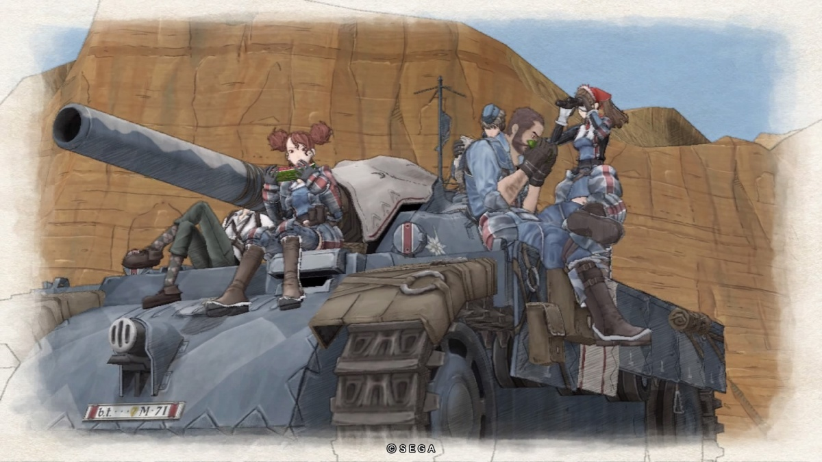 Screenshot for Valkyria Chronicles Remastered on PlayStation 4
