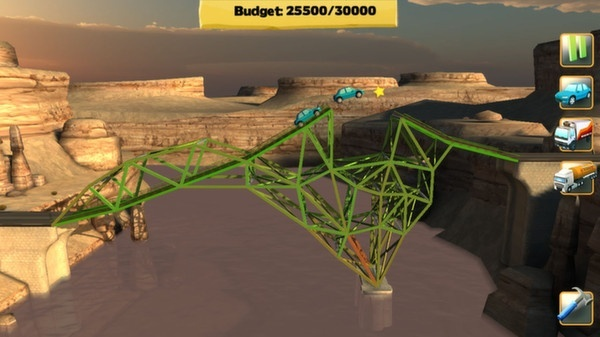 Screenshot for Bridge Constructor on PC