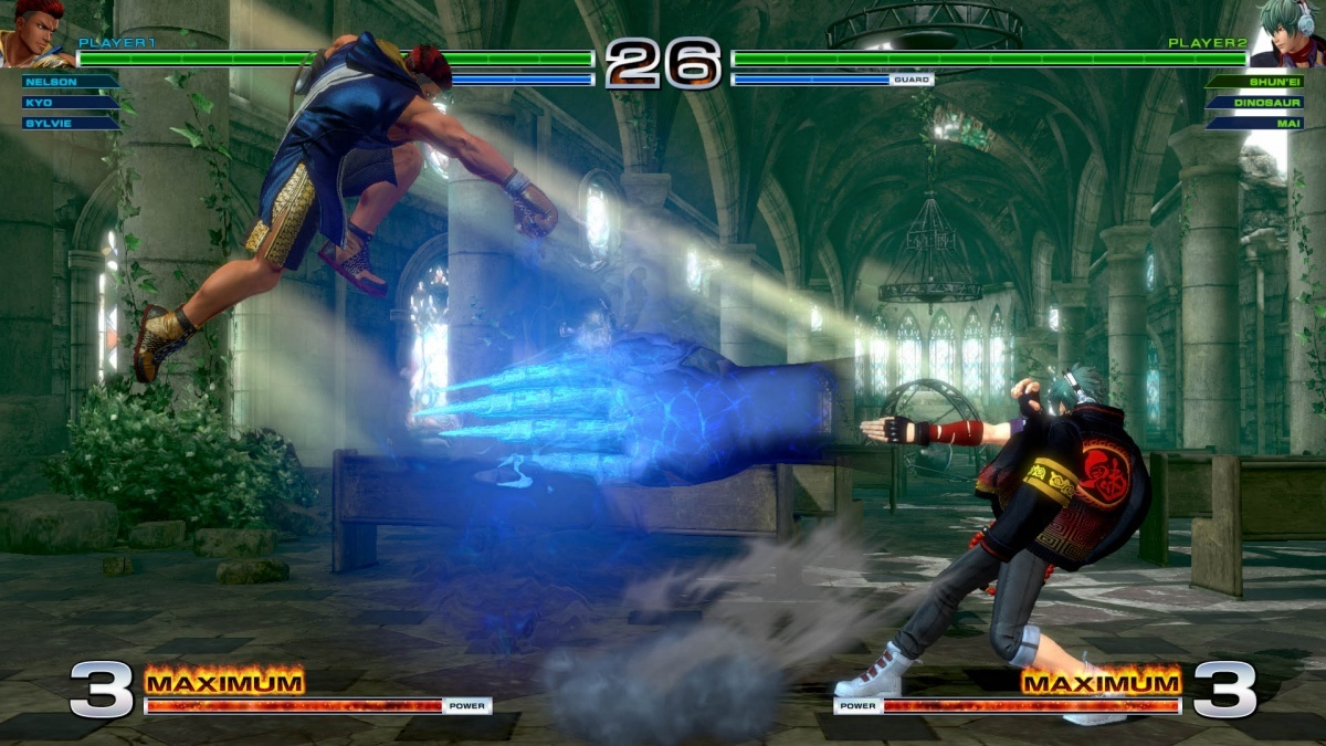 Screenshot for The King of Fighters XIV on PlayStation 4
