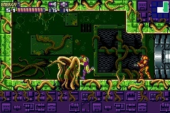 Screenshot for Metroid Fusion on Game Boy Advance