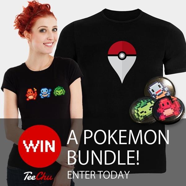 Image regarding win a new Pokmon Themed T-Shirt Bundle