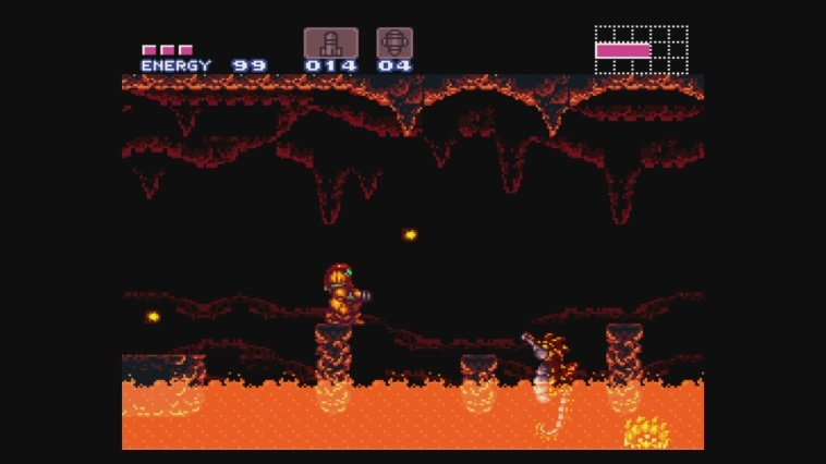 Screenshot for Super Metroid on Super Nintendo