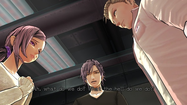 Screenshot for Zero Time Dilemma on PS Vita