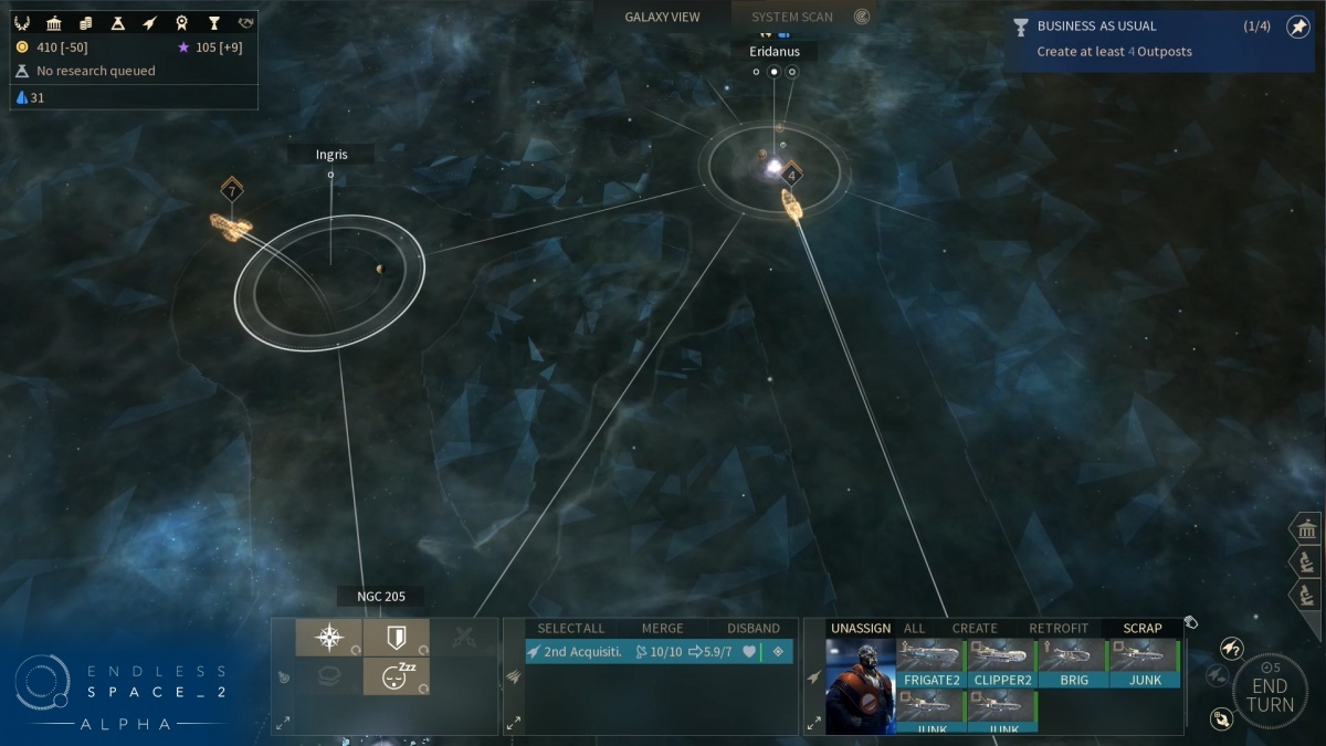 Screenshot for Endless Space 2 on PC