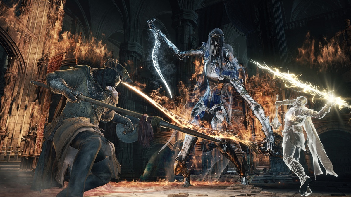 Screenshot for Dark Souls III on PlayStation 4