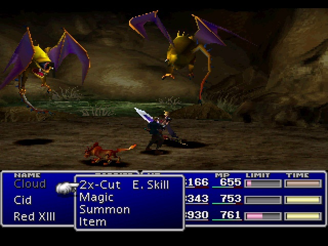 Screenshot for Final Fantasy VII on PlayStation
