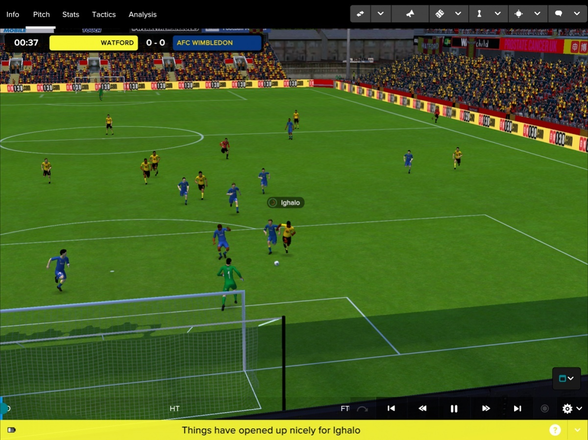 Screenshot for Football Manager Touch 2017 on Android