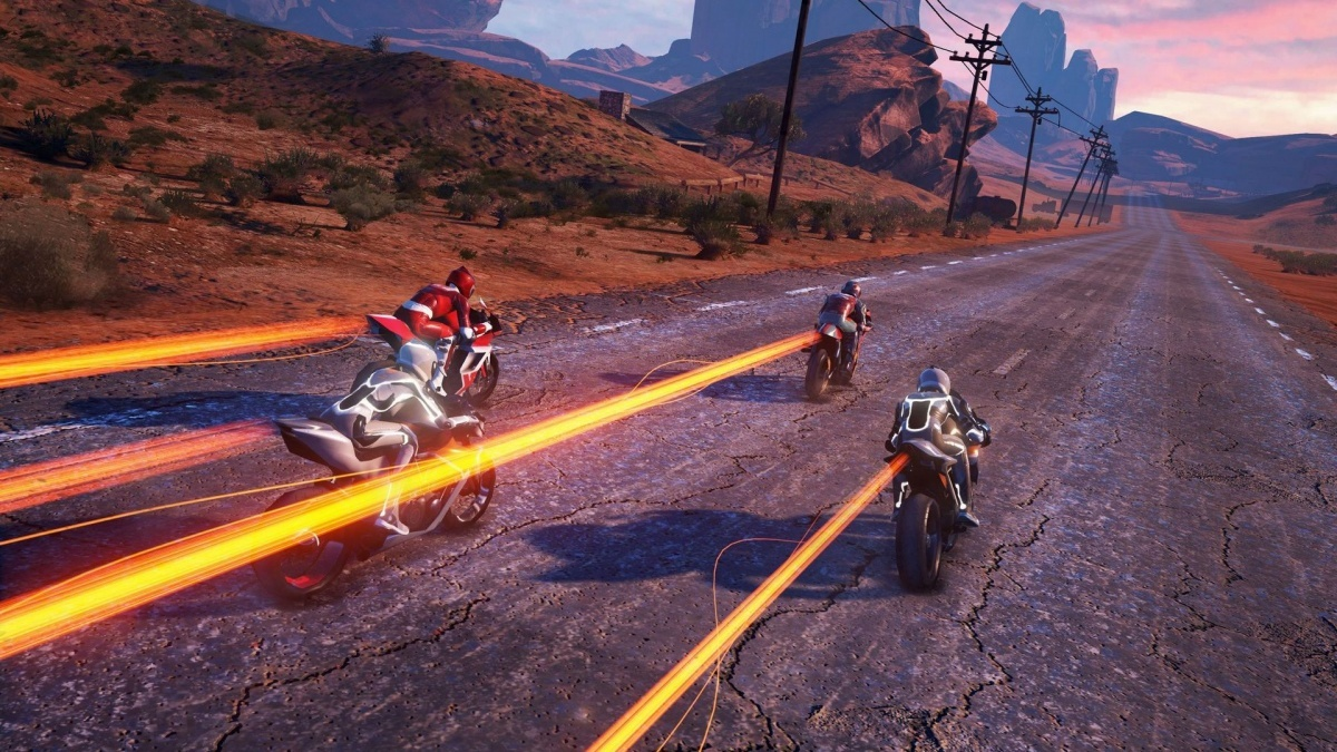 Screenshot for Moto Racer 4 on PlayStation 4