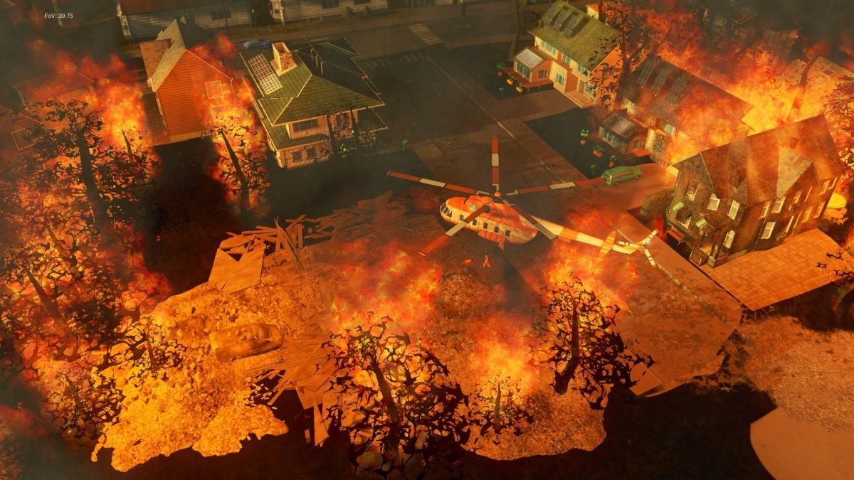 Screenshot for Cities: Skylines - Natural Disasters on PlayStation 4
