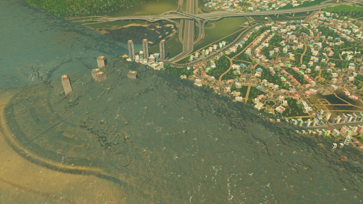 Screenshot for Cities: Skylines - Natural Disasters on PC