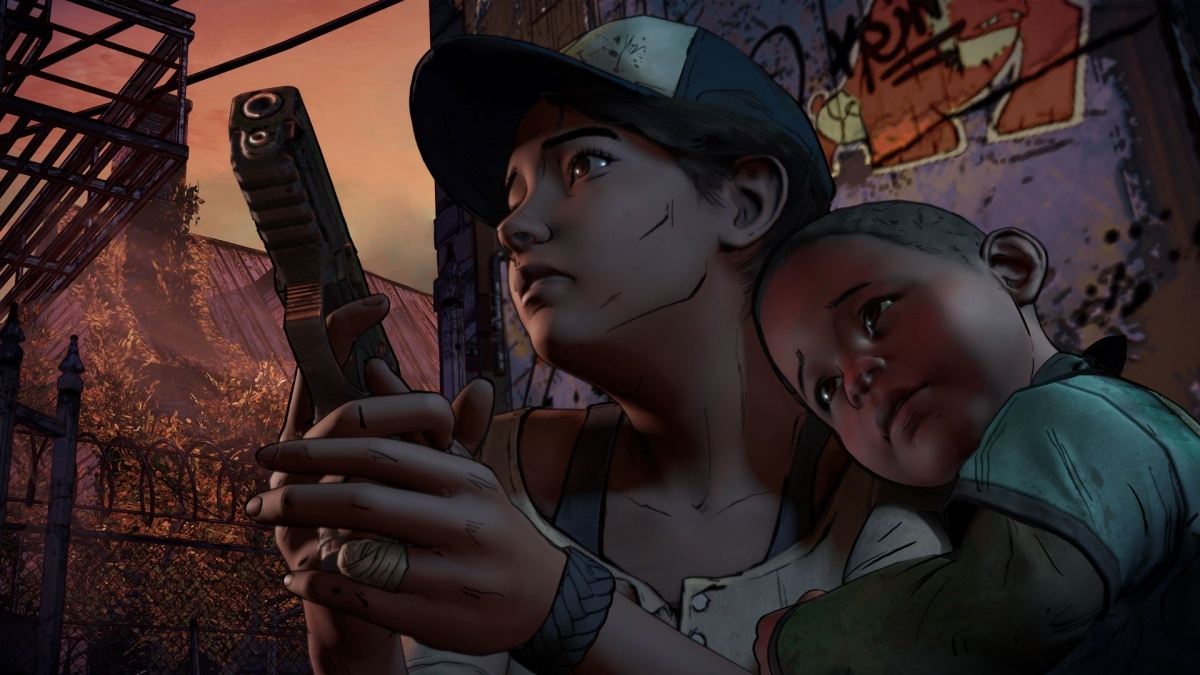 Screenshot for The Walking Dead: A New Frontier - Episode 2: Ties That Bind Part II  on PlayStation 4