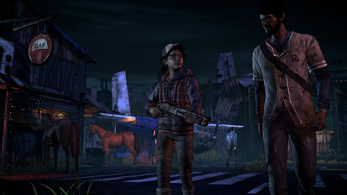 Screenshot for The Walking Dead: A New Frontier - Episode 1: Ties That Bind Part I  on PlayStation 4