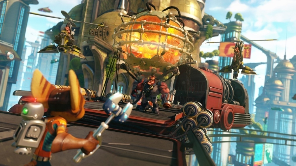 Screenshot for Ratchet & Clank on PlayStation 4