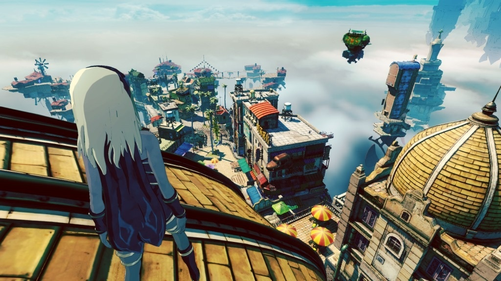 Screenshot for Gravity Rush 2 on PlayStation 4