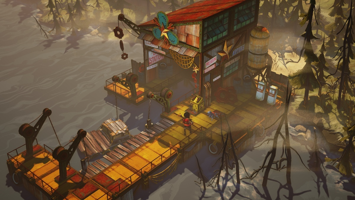 Screenshot for The Flame in the Flood on PC