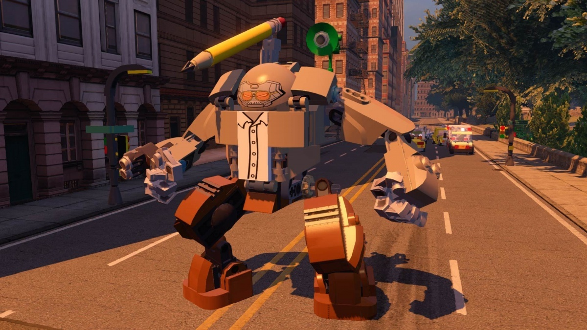 Screenshot for LEGO Marvel Avengers on Wii U