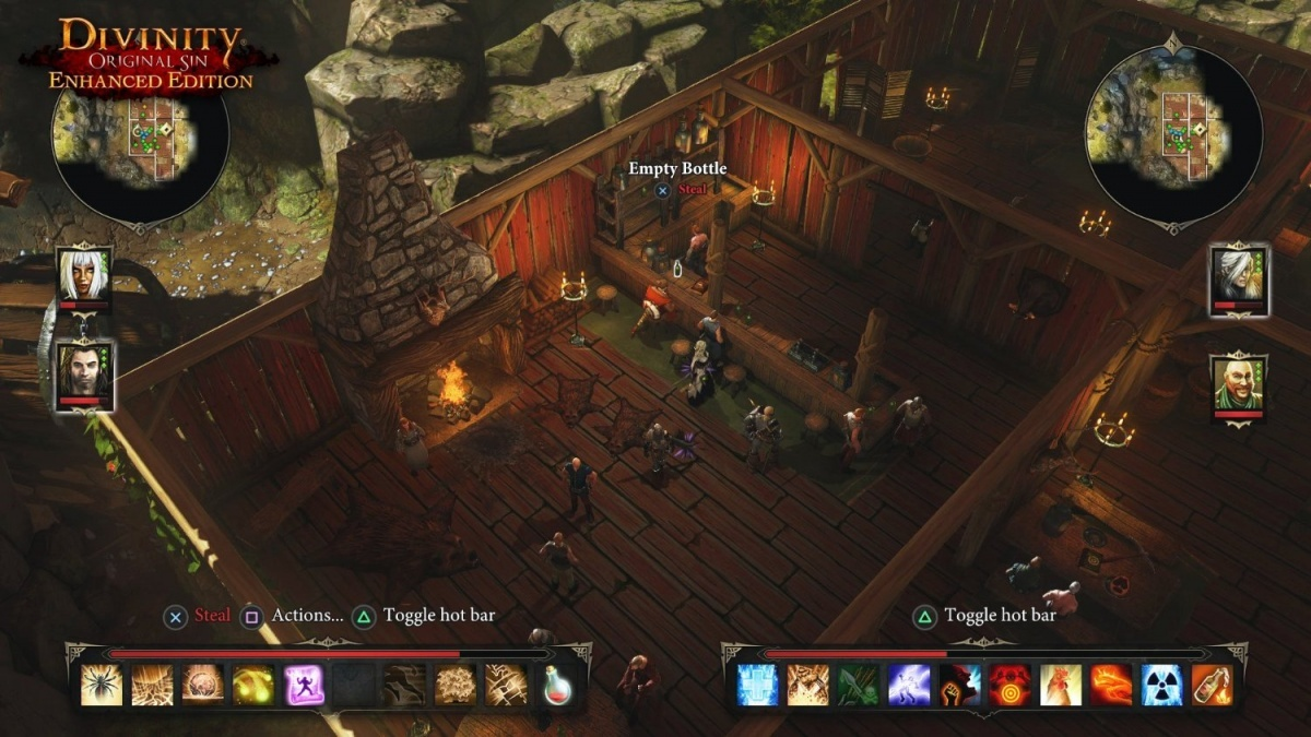 Screenshot for Divinity: Original Sin Enhanced Edition on PlayStation 4
