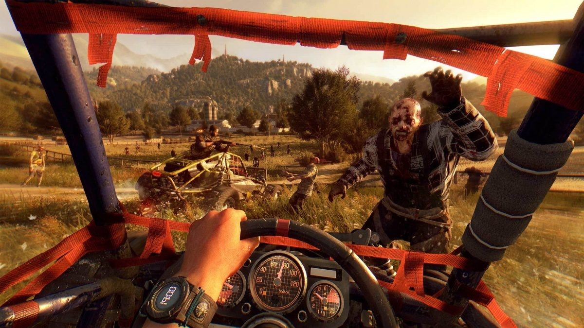 Screenshot for Dying Light: The Following on PlayStation 4