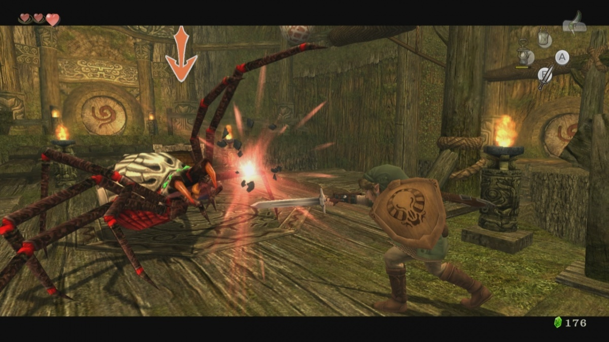 Screenshot for The Legend of Zelda: Twilight Princess HD on Wii U