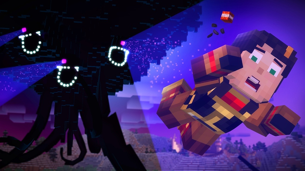 Screenshot for Minecraft: Story Mode - Episode 3: The Last Place You Look on Xbox One