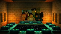 Screenshot for Minecraft: Story Mode - Episode 3: The Last Place You Look - click to enlarge