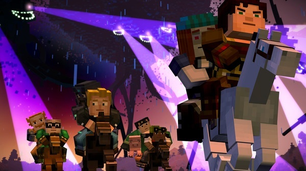 Screenshot for Minecraft: Story Mode - Episode 4: A Block and a Hard Place on Xbox One
