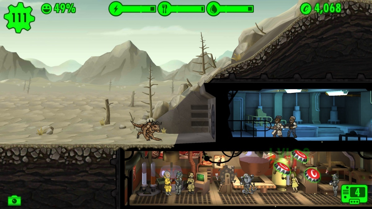 Screenshot for Fallout Shelter on iOS