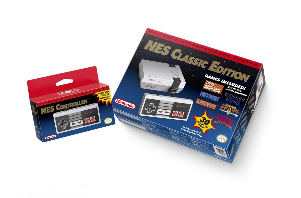 Image for Nintendo Announces the NES Classic Edition