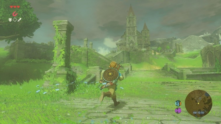 Screenshot for The Legend of Zelda: Breath of the Wild on Wii U
