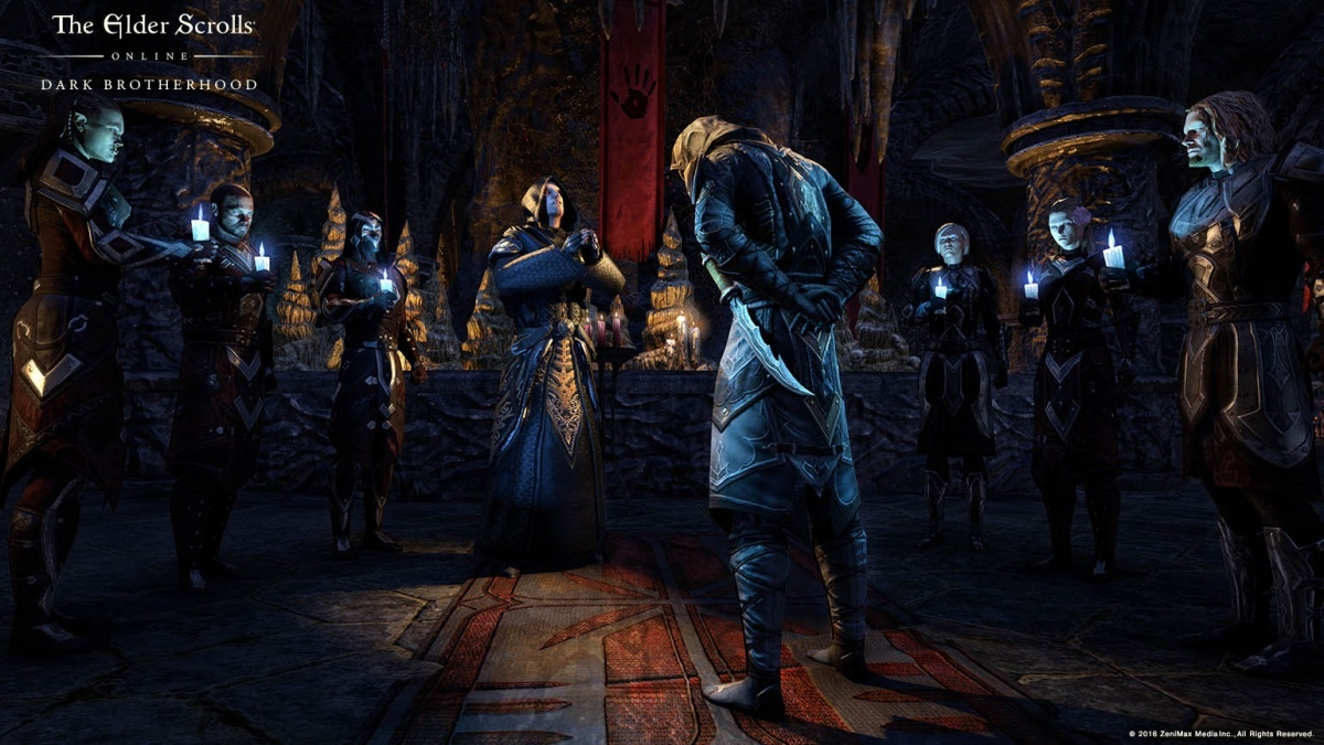 Screenshot for The Elder Scrolls Online: Tamriel Unlimited - Dark Brotherhood on PlayStation 4