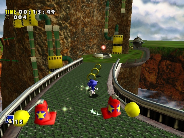 Screenshot for Sonic Adventure on Dreamcast