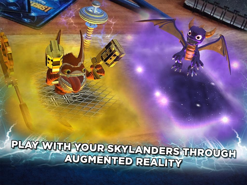 Screenshot for Skylanders Battlecast on Android