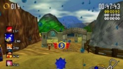 Screenshot for Sonic R - click to enlarge