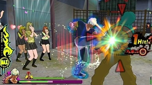 Screenshot for Uppers on PS Vita