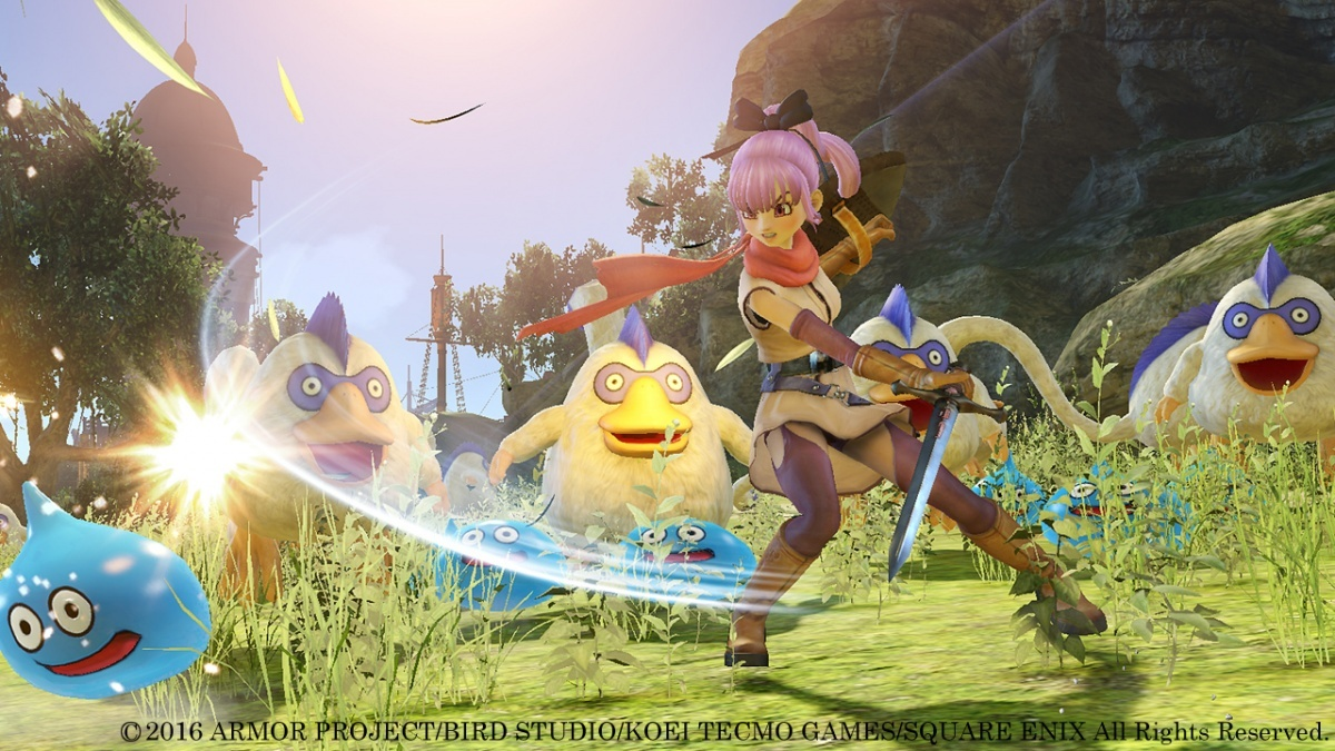 Screenshot for Dragon Quest Heroes II: The Twin Kings and the Prophecy's End on PlayStation 4