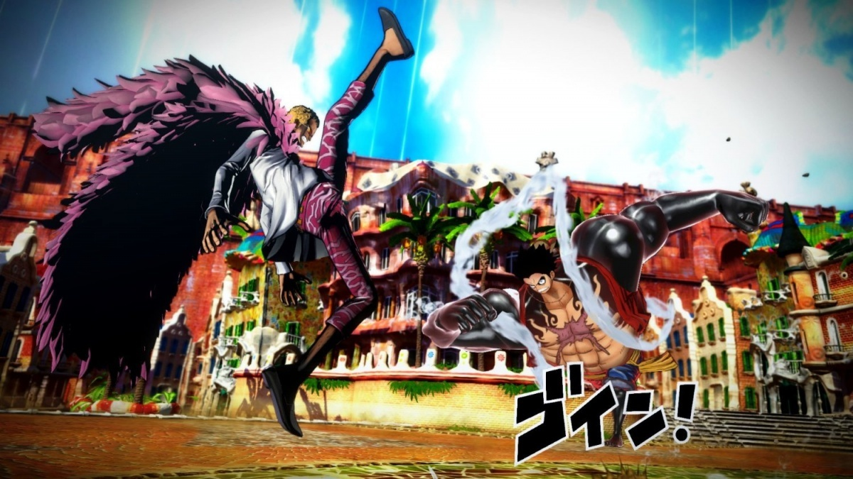 Screenshot for One Piece: Burning Blood on PC