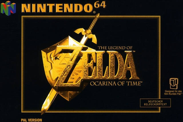 Image for Zelda 30th Anniversary | Top 20 Zelda Box Arts