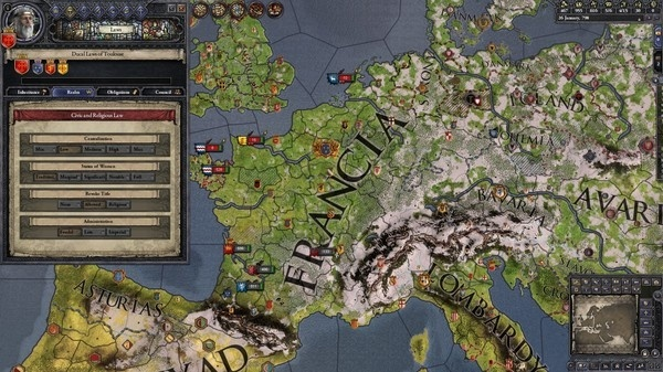 Screenshot for Crusader Kings II: Conclave on PC
