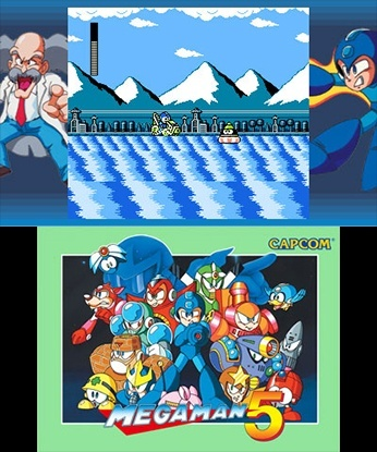 Screenshot for Mega Man Legacy Collection on Nintendo 3DS