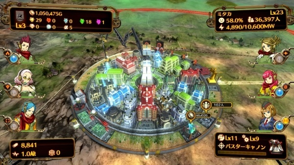 Screenshot for Aegis of Earth: Protonovus Assault on PlayStation 4