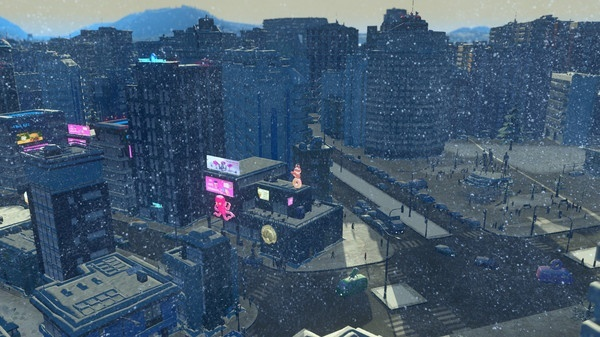 Screenshot for Cities: Skylines - Snowfall on PlayStation 4