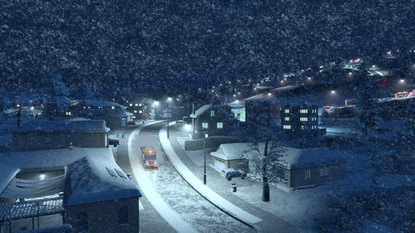 Screenshot for Cities: Skylines - Snowfall on PC