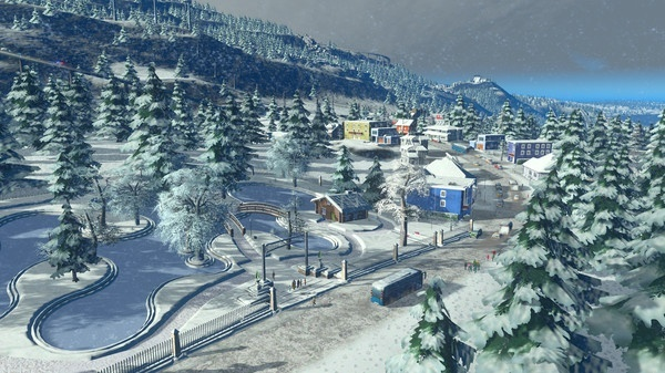 Screenshot for Cities: Skylines - Snowfall on Xbox One