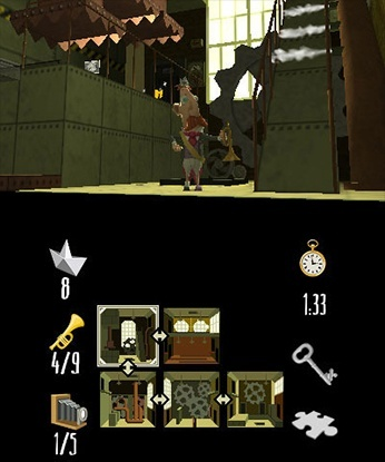 Screenshot for The Delusions of Von Sottendorff and His Square Mind on Nintendo 3DS