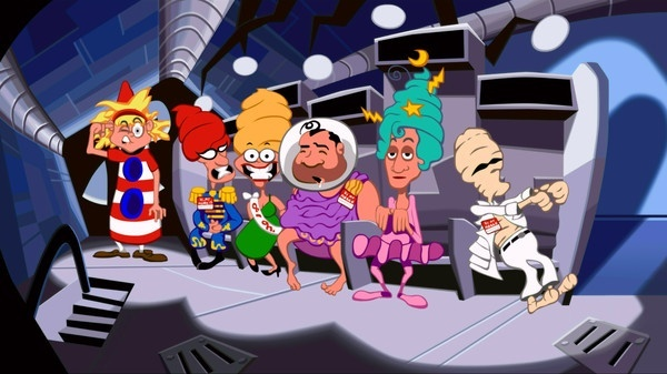 Screenshot for Day of the Tentacle Remastered on PC
