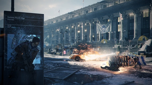Screenshot for Tom Clancy's The Division on PC