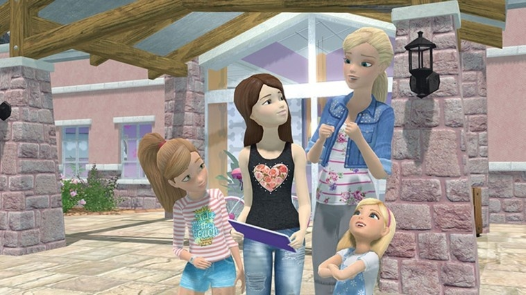Screenshot for Barbie and Her Sisters: Puppy Rescue on Wii U