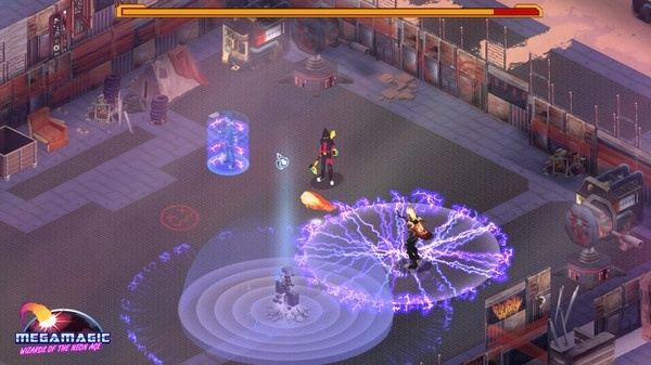 Screenshot for Megamagic: Wizards of the Neon Age on PC