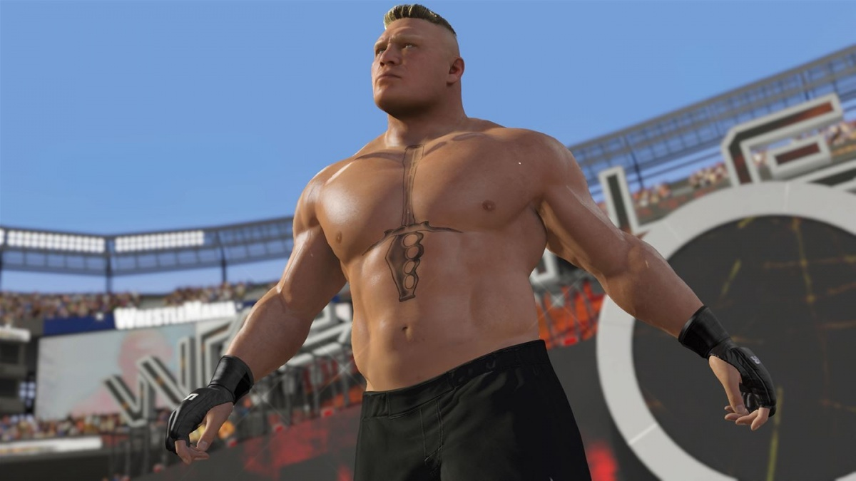 Screenshot for WWE 2K17 on Xbox One